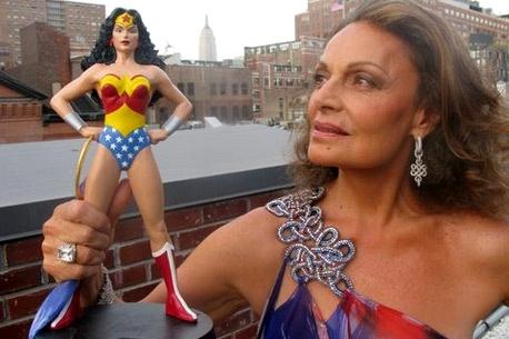 Wonder Woman, version Diane Von Furstenberg