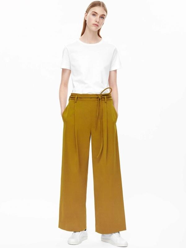 Wanted un pantalon large jaune moutarde tendances de mode for Se mettre a son compte mais dans quoi