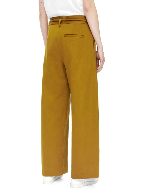 Pantalon large jaune COS