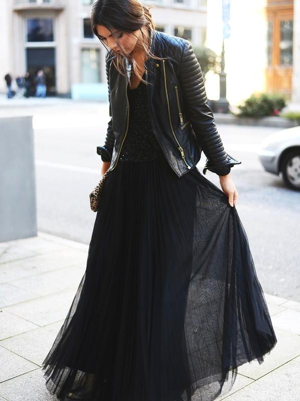 Blazer + robe noire