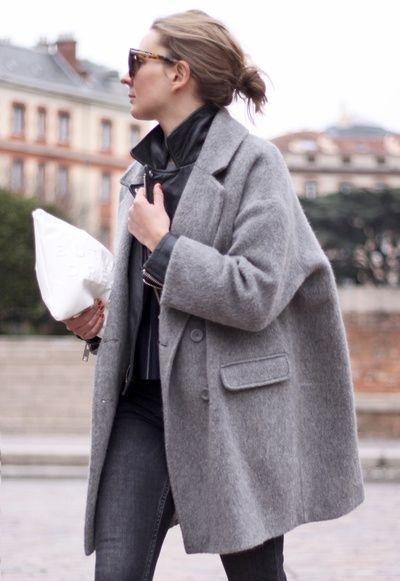 Mode Grise 2019 Veste Européenne – Femme Oversize 2018 pInAww15qU