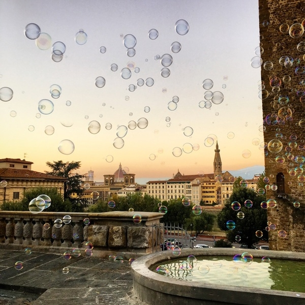 Des bulles sur Florence