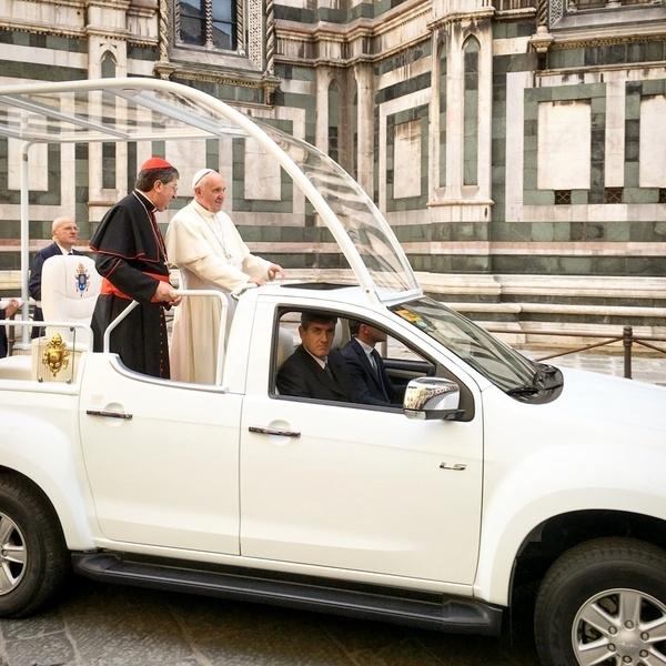 Le pape François à Florence