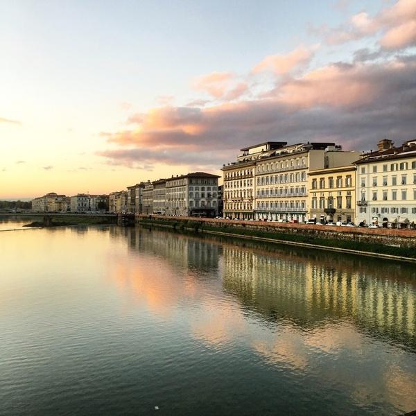 Les rives de l'Arno