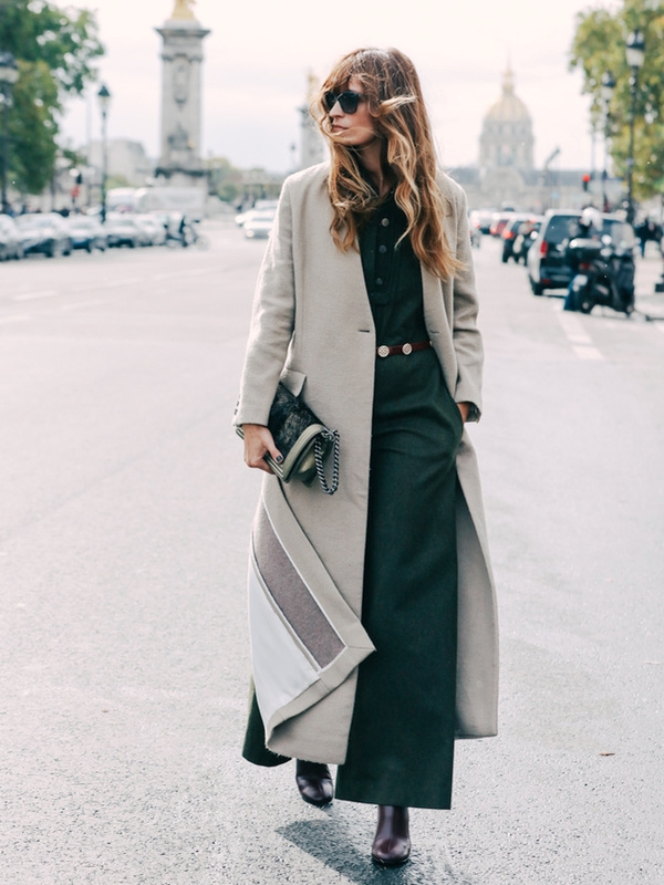 Manteau long - Streetstyle