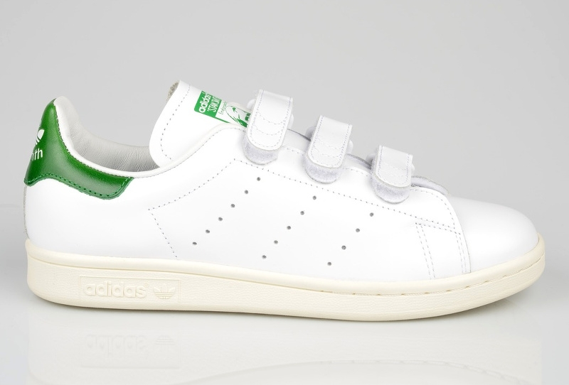 Baskets à scratch Stan Smith en cuir