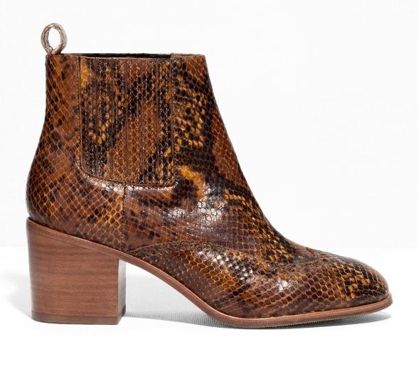 Boots effet python