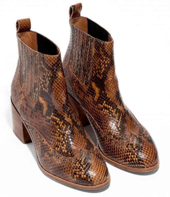 Paire Tendances Boots Effet WantedUne De Python Mode 2DH9IWE