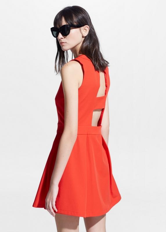 robe orange comment la porter un mariage tendances de mode. Black Bedroom Furniture Sets. Home Design Ideas