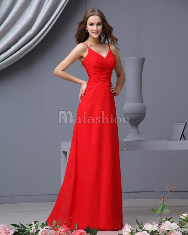 Photo mariage robe rouge