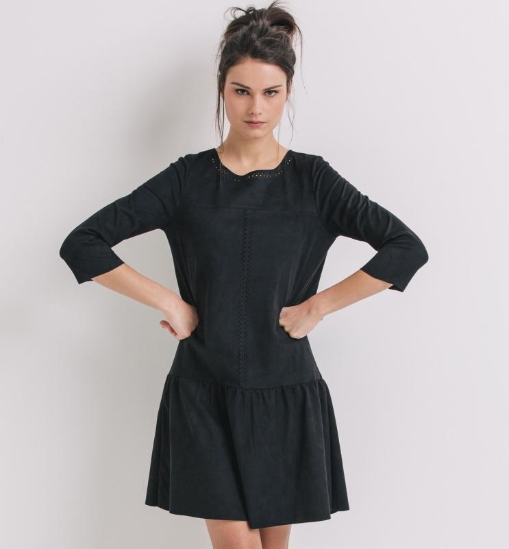 Quelle veste porter avec une robe noire tendances de mode for Quoi porter sur une robe pour un mariage d hiver