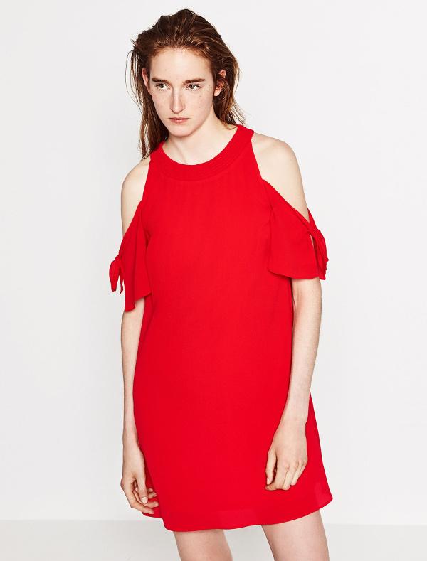 Un robe rouge