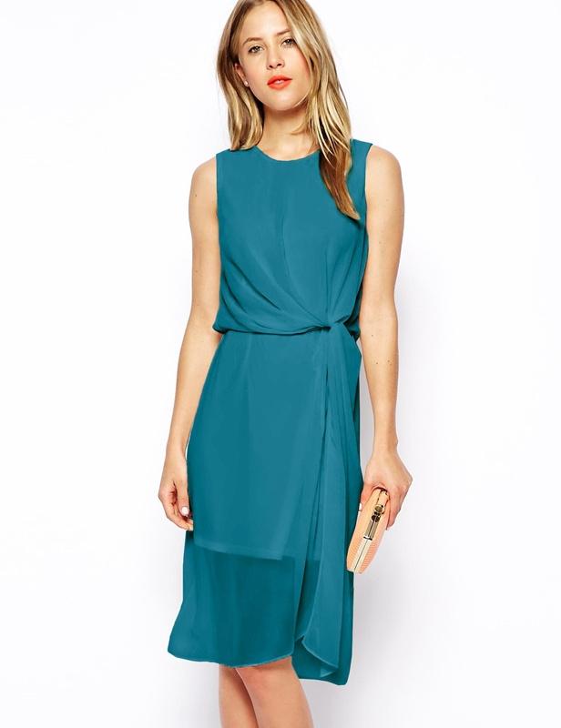 jai achet cette robe couleur bleu sarcelle pour le mariage - Robe Bleu Electrique Mariage