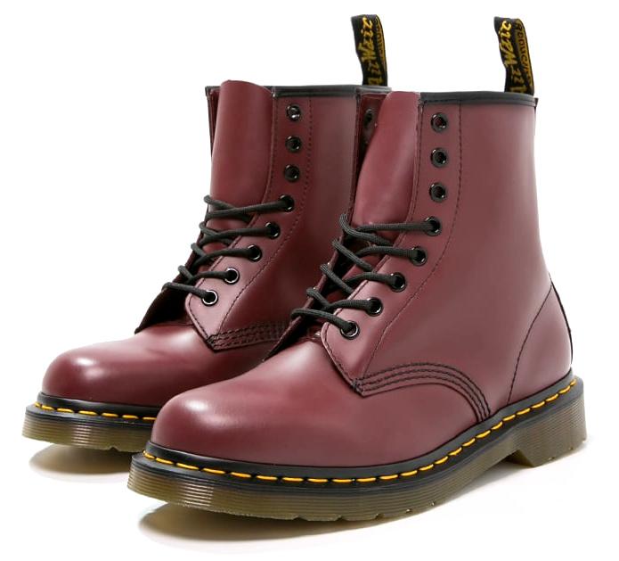 Doc martens rouges comment les porter en hiver - Comment porter des doc martens femme ...