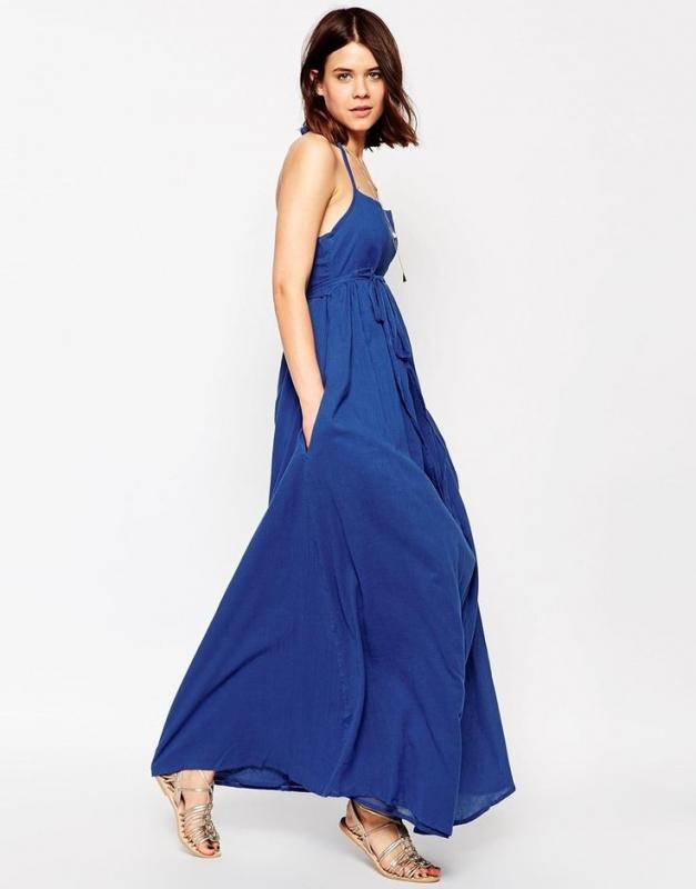 Comment De BleueTendances Robe Mode Longue Porter La 5jAL4R