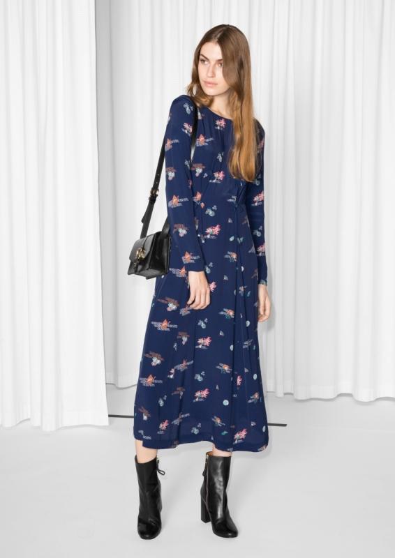 Souvent Robe bleu marine : avec quelle veste la porter ? - Tendances de Mode BQ51