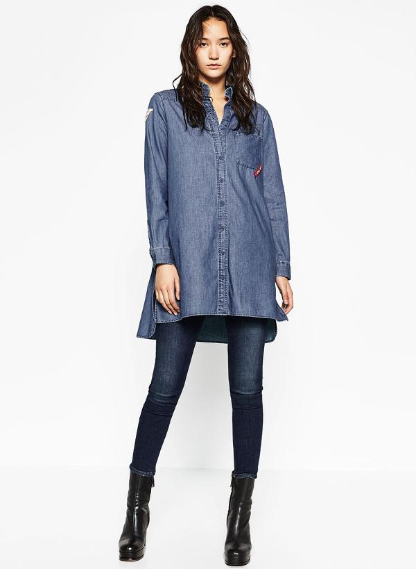 Chemise liquette en jean avec quoi la porter tendances de mode - Avec quoi tuer des asticots ...