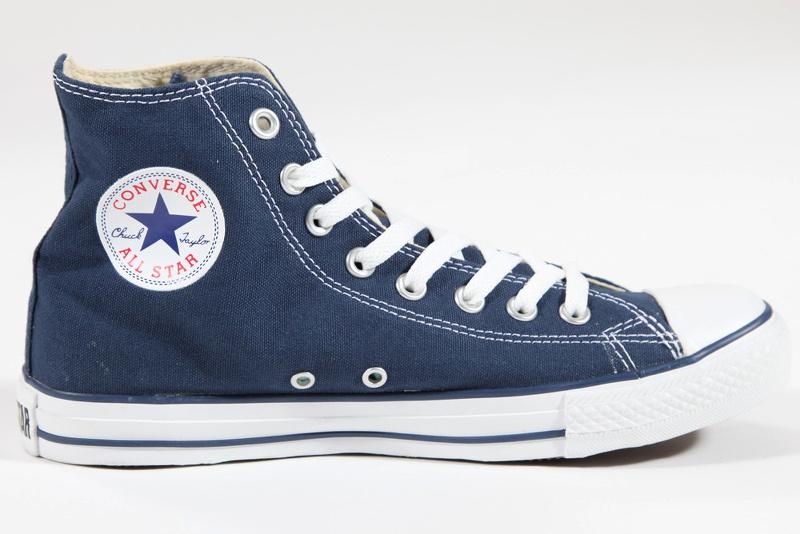 basket converse bleu marine