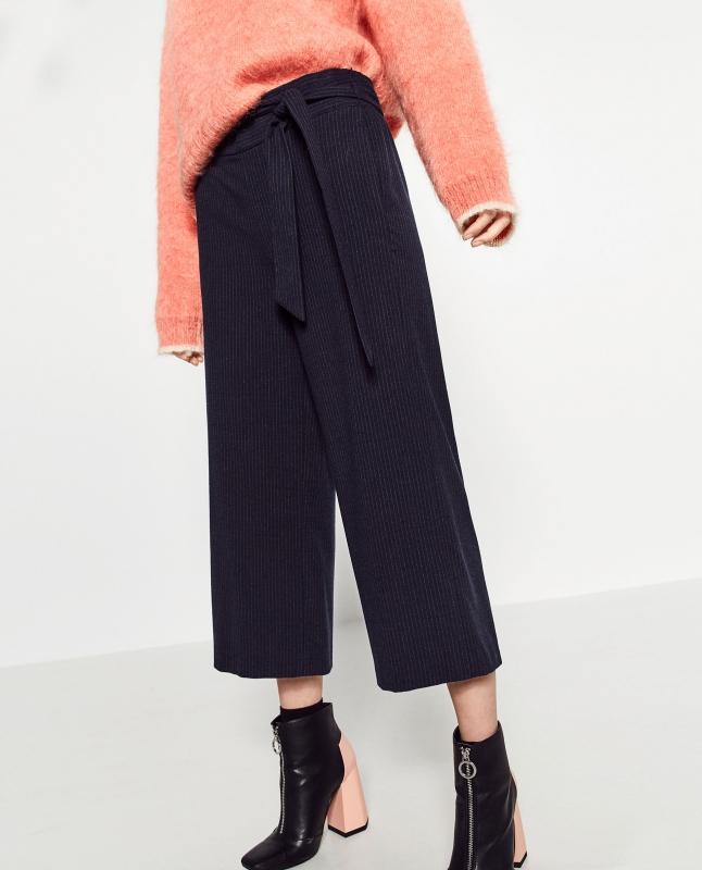 pantalon large cropped comment le porter tendances de mode. Black Bedroom Furniture Sets. Home Design Ideas