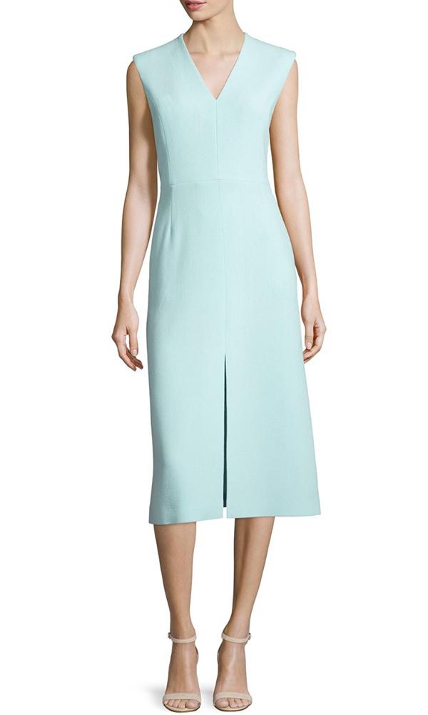 Comment accessoiriser une robe vert d'eau