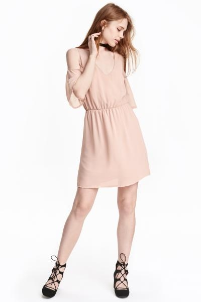 Robe rose poudre quelle chaussure