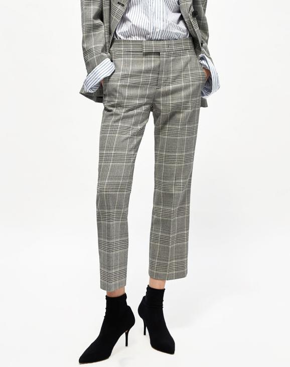 Pantalon carreaux avec quoi le porter tendances de for Pantalon a carreaux
