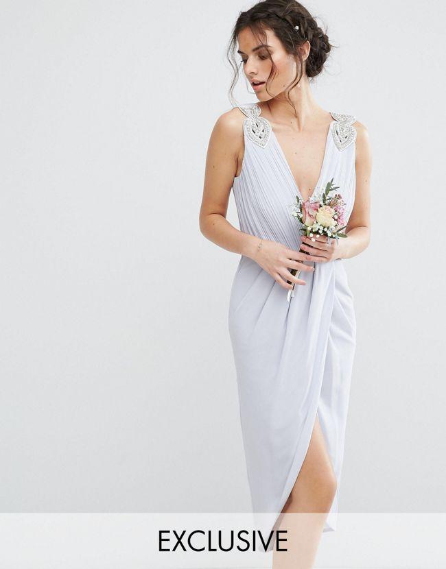 Robe bleu ciel comment la porter un mariage for Robes bleu ciel pour un mariage