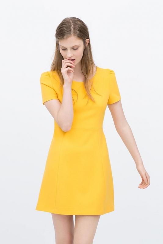 quelles chaussures porter avec une robe jaune tendances de mode. Black Bedroom Furniture Sets. Home Design Ideas