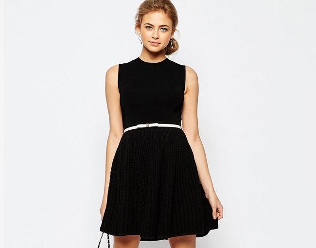 quelle veste porter avec une robe noire un mariage tendances de mode. Black Bedroom Furniture Sets. Home Design Ideas