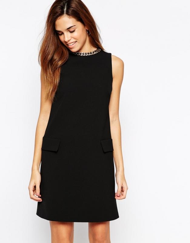 quelles chaussures porter avec une robe noire un mariage tendances de mode. Black Bedroom Furniture Sets. Home Design Ideas