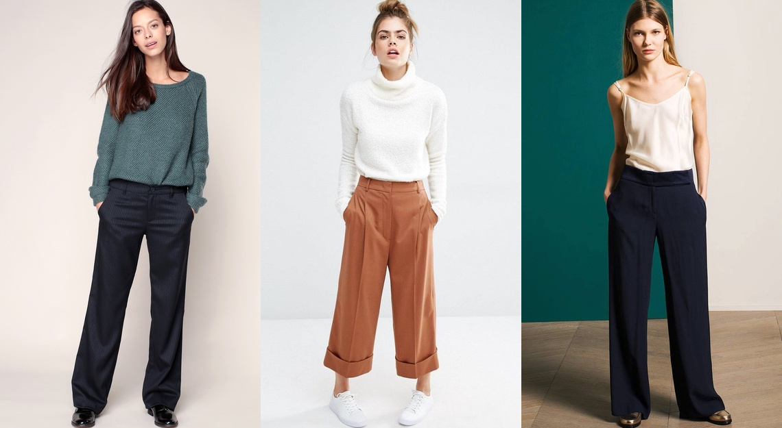 Pantalon large , Tendance 2018