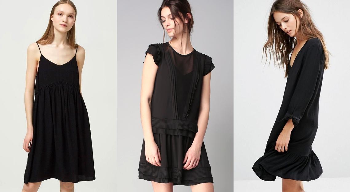 robe noire tendances automne hiver 2018 2019 tendances de mode. Black Bedroom Furniture Sets. Home Design Ideas
