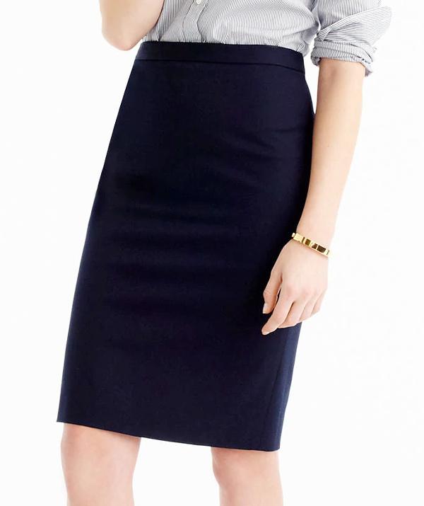 Quelle veste porter avec une jupe crayon tendances de mode - Que porter avec une jupe crayon ...
