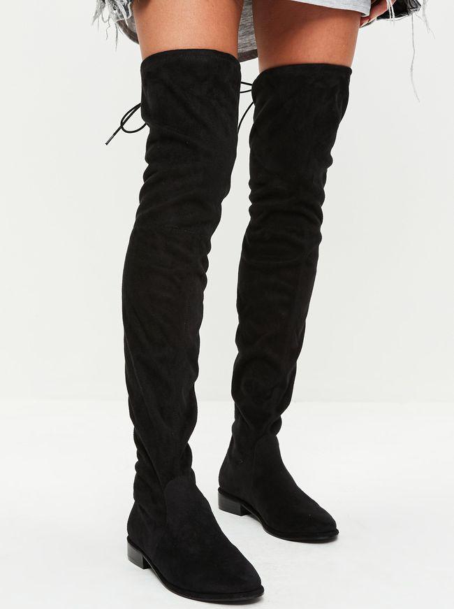 nouveau concept 10999 fef20 Cuissardes Noires : avec Quoi Les Porter ? - Tendances de Mode
