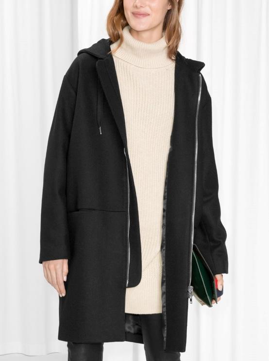 ... manteau noir et j aimerais savoir avec quoi l associer. cc5f1021d9b