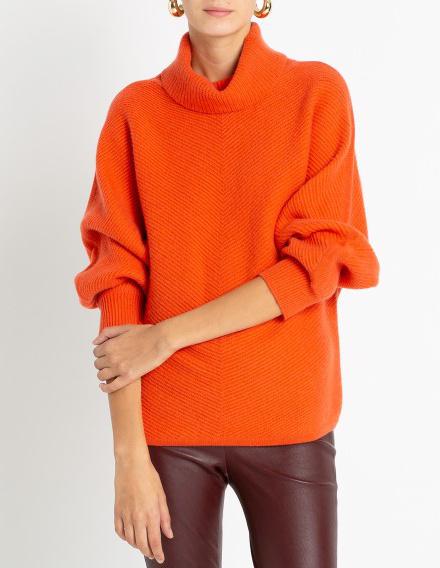 1a309b93c81 Pull Orange   Comment le Porter   - Tendances de Mode